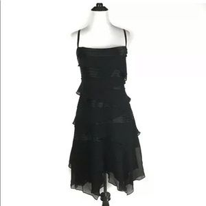 NWT BCBG MAXAZRIA BLACK COCKTAIL SHEATH DRESS XS